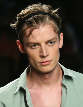 Men's Hairstyle Trends 2015: Hair Band